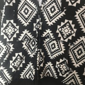 Almost Famous Jackets & Coats - Aztec print Almost Famous Hoodie